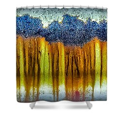 Junkyard Abstract Shower Curtain
