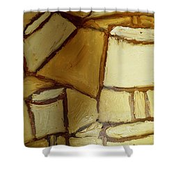 Abstract Lamp #1 Shower Curtain
