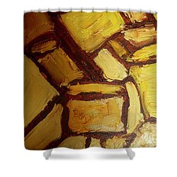 Abstract Lamp #2 Shower Curtain