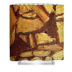Abstract Lamp Again Shower Curtain