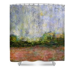 Abstract Landscape #310 - Art By Jim Whalen Shower Curtain