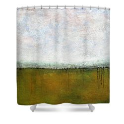 Abstract Landscape #311 Shower Curtain