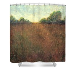 Abstract Landscape #212 - Art By Jim Whalen Shower Curtain
