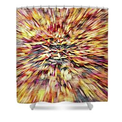 Shower Curtain featuring the photograph Abstract Leaves 1 by Rebecca Cozart