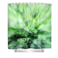 Shower Curtain featuring the photograph Abstract Leaves 7 by Rebecca Cozart