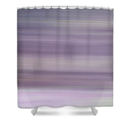 Abstract Lilacs Shower Curtain