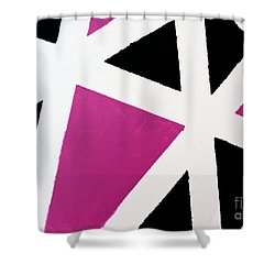 Abstract M1015l Shower Curtain
