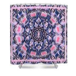 Abstract Mandala Pattern Shower Curtain