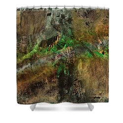 Abstract Mood 2 Shower Curtain