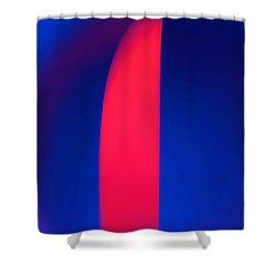Abstract No. 13 Shower Curtain