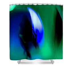 Abstract No. 2 Shower Curtain