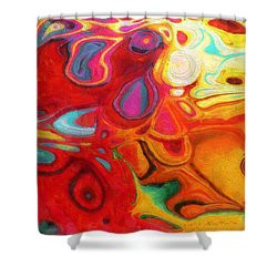 Abstract No. 20 Shower Curtain