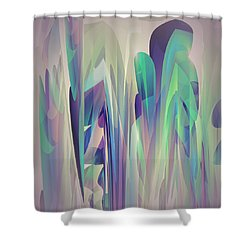 Abstract No 27 Shower Curtain