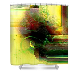 Abstract No 29 Shower Curtain