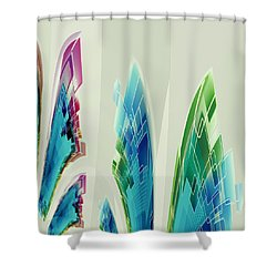 Abstract No 35 Shower Curtain