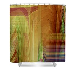 Abstract No 36 Shower Curtain by Robert G Kernodle