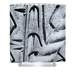 Abstract No. 97-2 Shower Curtain