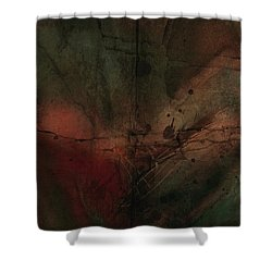 Abstract Nude 4 Shower Curtain by Jim Vance