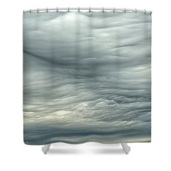 Abstract Of The Clouds 2 Shower Curtain by Gary Slawsky