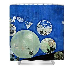 Abstract Painting - Rainee Shower Curtain