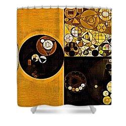 Abstract Painting - Sahara Shower Curtain