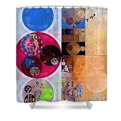 Abstract Painting - Wafer Shower Curtain
