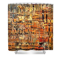 Abstract Part By Rafi Talby Shower Curtain by Rafi Talby