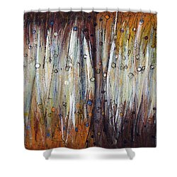 Abstract Patterns One Shower Curtain
