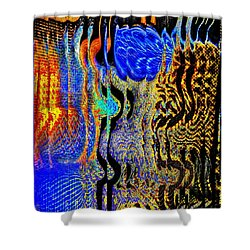 Shower Curtain featuring the photograph Abstract Photography 001-16 by Mimulux patricia no No