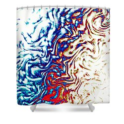 Abstract Photography 002-16 Shower Curtain by Mimulux patricia no No