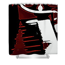 Abstract Piano Shower Curtain