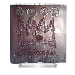Abstract Princess Dreams Of Grandeur Shower Curtain