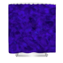 Shower Curtain featuring the photograph Abstract Purple 7 by Clare Bambers