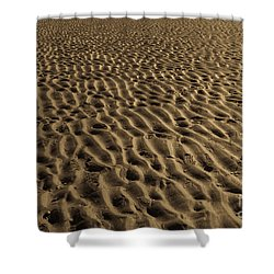 Abstract Sand Shower Curtain