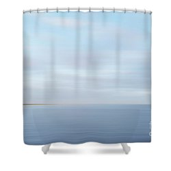 Shower Curtain featuring the photograph Abstract Seascape by Ivy Ho