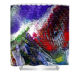 Abstract Series 0615a-3 Shower Curtain