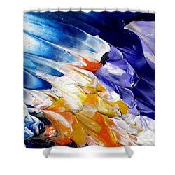 Abstract Series 0615a-4-l2 Shower Curtain