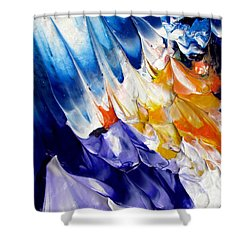 Abstract Series 0615a-6p2 Shower Curtain