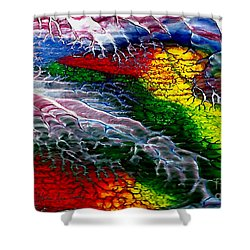 Abstract Series 0615a Shower Curtain