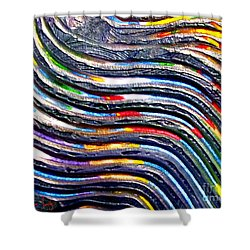 Abstract Series 0615b1 Shower Curtain