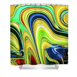 Abstract Series 153240 Shower Curtain