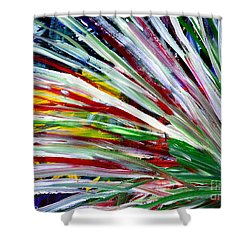 Abstract Series C1015cl Shower Curtain