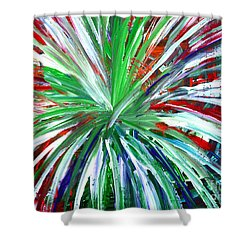 Abstract Series C1015dl Shower Curtain