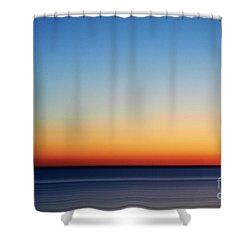 Abstract Sky Shower Curtain by Tony Cordoza
