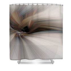 Abstract Soft Flower Shower Curtain