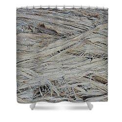 Abstract Tree Bark Shower Curtain by Jayne Wilson