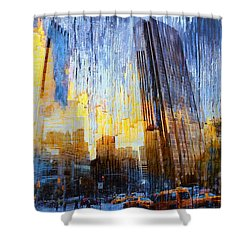 Shower Curtain featuring the photograph Abstract Vision by John Rivera