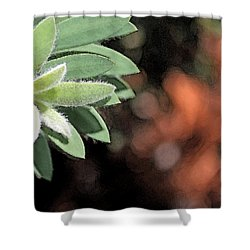 Shower Curtain featuring the photograph Abstract Watercolor by Judy Vincent