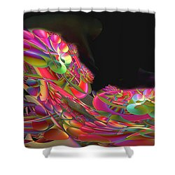 Abstract49 Shower Curtain