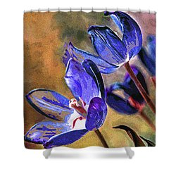 Abstracticus Tuliptimus Shower Curtain